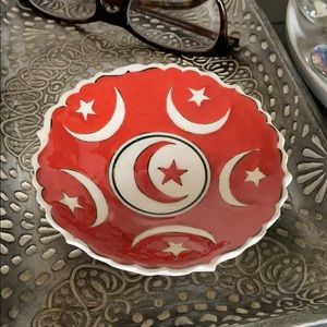 Celestial Moon Star small Bowl Turkish Airlines